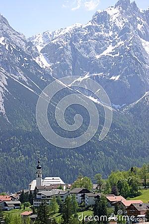 Alpiene Kerk in Oostenrijk