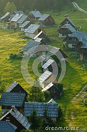 Alpine dairy farms