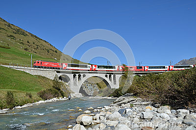Alpine express Editorial Stock Image