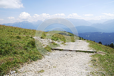 Alpine Hiking Path