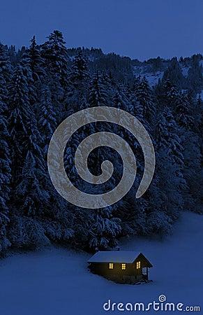 Free Alpine Hut In Switzerland Stock Images - 1997484