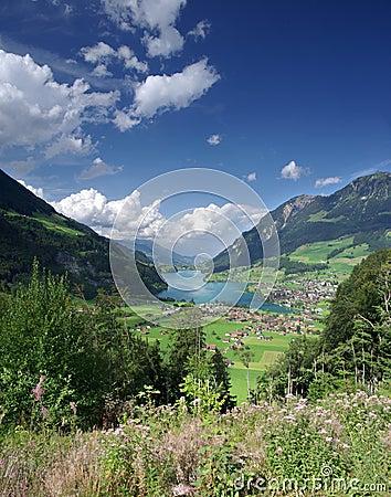 Free Alpine Lake Valley Stock Photos - 22264533