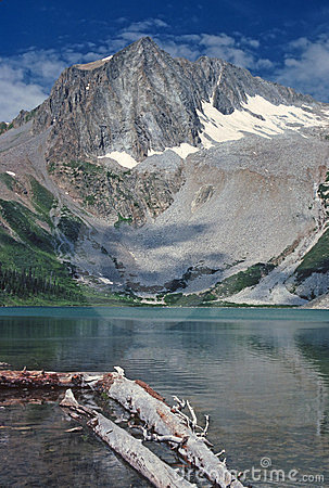Alpine Lake in the Wilds