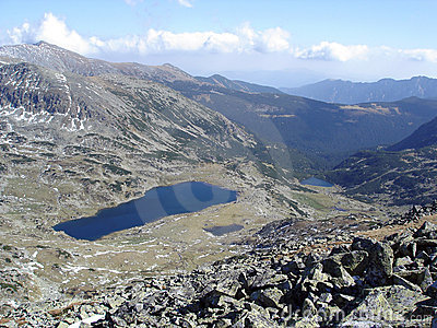 Alpine Lakes In Retezat National Park