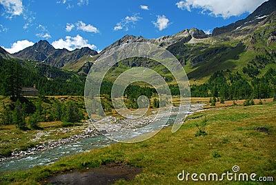 Alpine landscape, Alpe Veglia.
