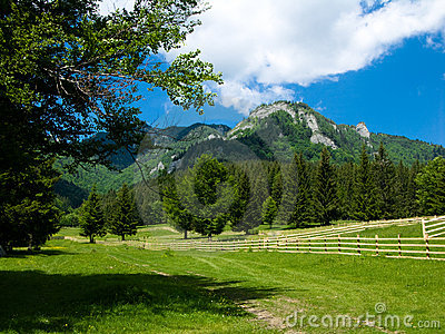 Alpine landscape in Romania
