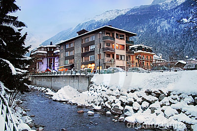 Alpine Resort, Chamonix, France,