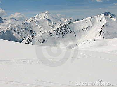 Alpine skiing area