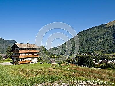 Alpine skiing hotel