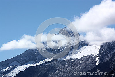Alpine summit