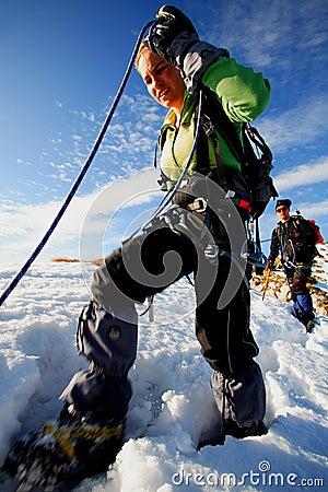 Alpine trekkers