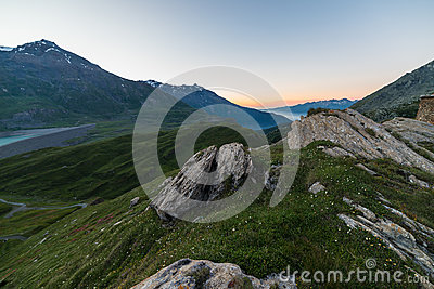 Alpine twilight