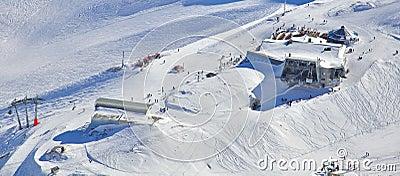 Alpines Skifahren