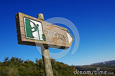 Alpinism sign
