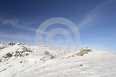 Alpinist on top
