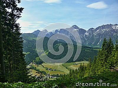 Alps-down St.Martin