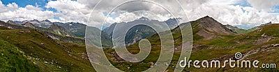 Alps, France (Col du Bonhomme) - Panorama