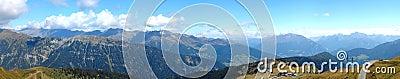 Alps High Altitude Panorama