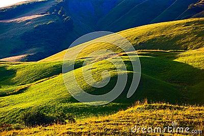 Alps hills
