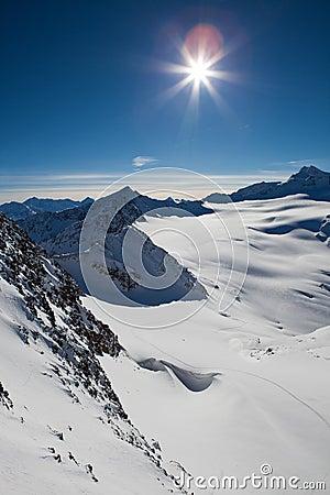 Alps landscape