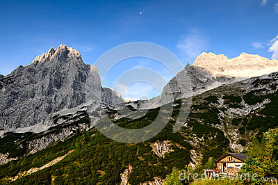 Alps mountain scenery