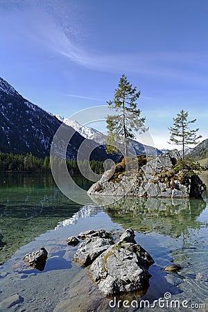 Free Alps, Ramsau-hintersee Royalty Free Stock Photography - 14793677