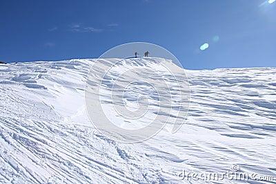 Alps ski touring
