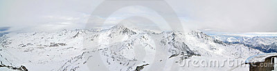 Alps Winter Panorama