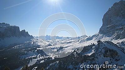 Alps wysokogórski krajobraz