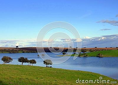 Alqueva greater artificial lake