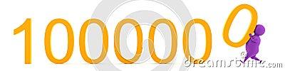 Already A Million! Stock Photo - Image: 28080250