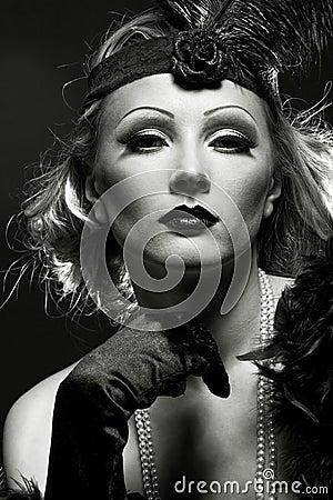 Als Marlene Dietrich