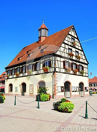 Alsace house