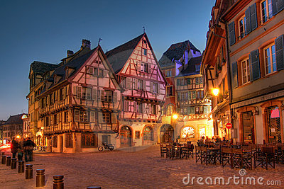 Alsace Houses, Colmar, France