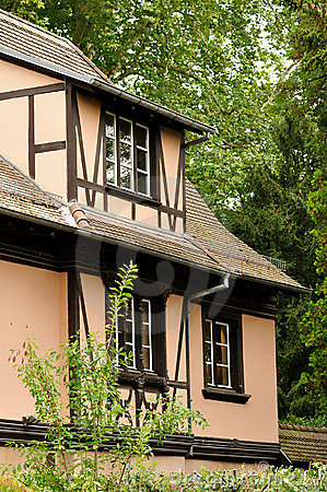 Alsace traditional house