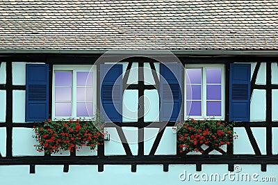 Alsace windows