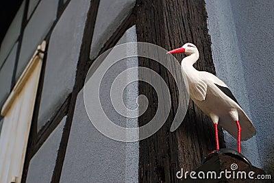 Alsatian stork