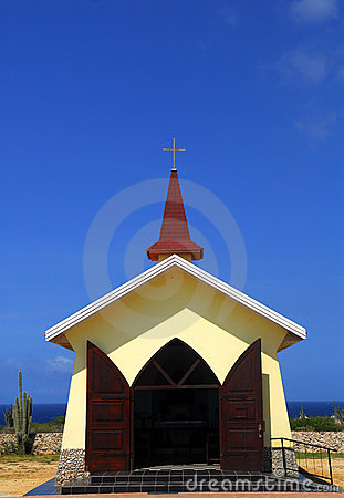 The Alta Vista Chapel in Aruba