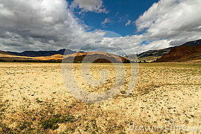 Altai desert mountains