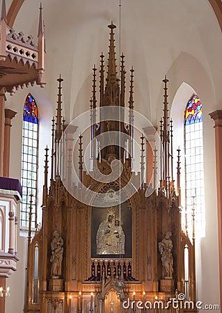 Altar in Catholic Church