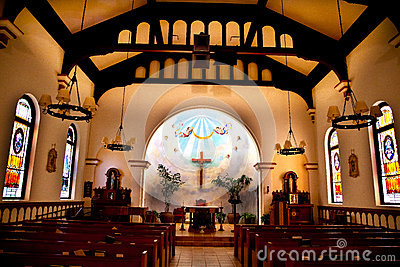 Altar Cross Immaculate Conception Church
