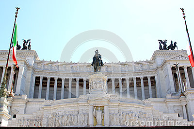 Altar of the Fatherland in Rome, Italy
