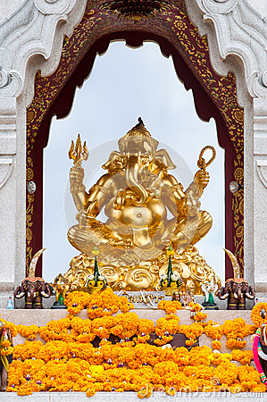 Altar with Ganesh