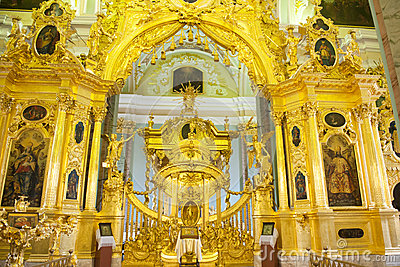 Altar Peter and Paul Cathedral, St. Petersburg