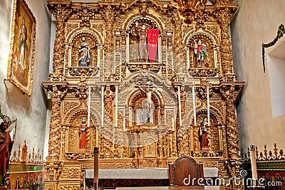 Altar Serra Chapel Mission San Juan Capistrano