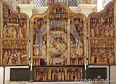 The Altar. St. Mary s Church, Lübeck