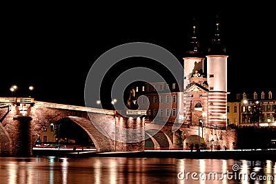 Alte Brucke, Heidelberg bridge, Germany