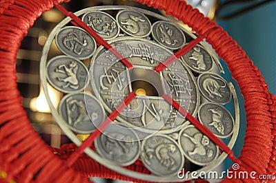 Alte chinesische Münze