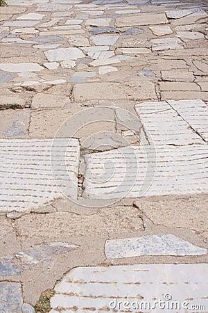 Alte Einlegearbeit, Ephesus, die Türkei