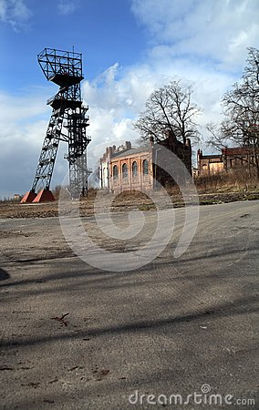 Altes Bergwerk Polen